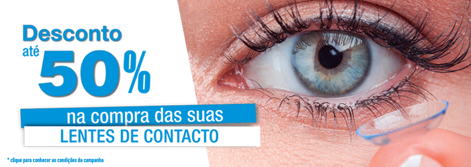 Campanha lentes de contacto
